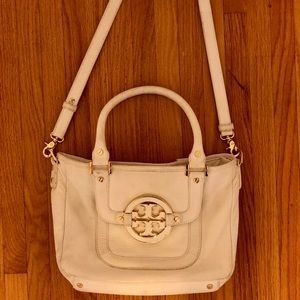 White Tory Burch cross over